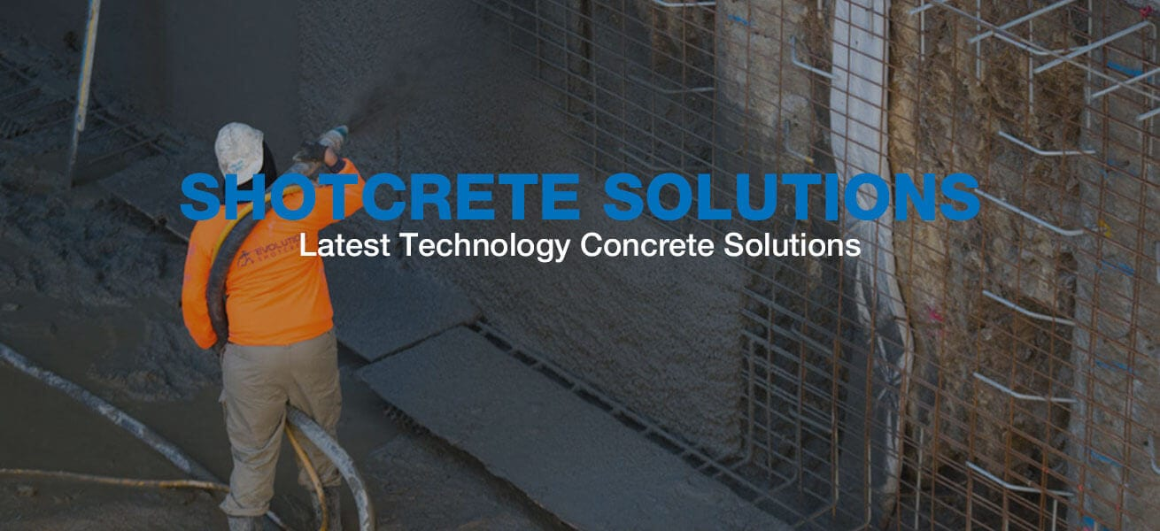 Shotcrete-slide
